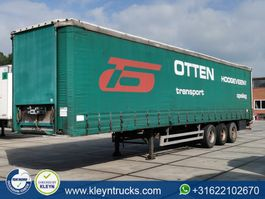 sliding curtain semi trailer Pacton T3-001 1999