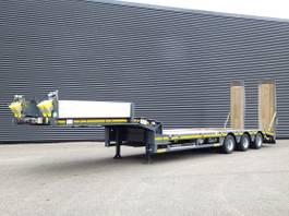 lowloader semi trailer Faymonville 3 x STUUR AS / RAMPEN / GIEK SLEUF 2013