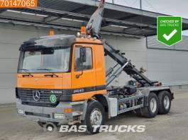 container truck Mercedes-Benz Actros 6X4 Big-Axle Steelsuspension 3-Pedals Euro 3 2000