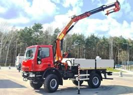 crane truck Iveco 140E18 4x4 PALFINGER PK 12500  DRILL Cran Kran . 140E18 4x4 PALFINGER PK 12500 DRILL Cran Kran . 2005