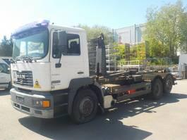 container truck MAN 1 MAN FE 410A 6x2 Abrollkipper 26314 26.414 2001
