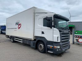 closed box truck Scania R340     box height 283cm
