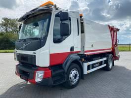 garbage truck Volvo FL280 4X2 EURO 6 72.000 KM  NTM  GARBAGE MULLWAGEN 2015