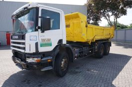 tipper truck > 7.5 t Scania 114-340 / TIPPER / HUB REDUCTION / FULL STEEL / EURO-2 / 1999 1999