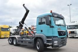 container truck MAN TGS 26 6x4H-2 BL Meiller RK20.65 Lift/lenk 2011