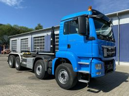 container truck MAN TGS 35 8x4 Euro 6 Abrollkipper VDL 25T 2015