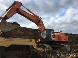 crawler excavator Hitachi ZX 470 LC H-3 2011