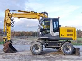 wheeled excavator Hitachi ZX140W-3 - Straight out of work / Dutch Machine 2008