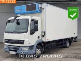 refrigerated truck DAF LF 220 4X2 Manual Ladebordwand Euro 5 FrigoBlock FK13 2011