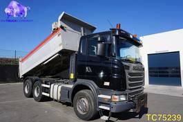 tipper truck > 7.5 t Scania G Euro 5 RETARDER 2011