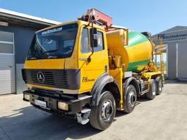 concrete mixer truck Mercedes-Benz SK 3234 8X4 liebherr mixer + putzmeister 28m - TOP 1993