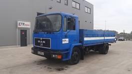 platform truck MAN 18.264 (6 CYLINDER ENGINE / 18 TON / EURO 2 / MANUAL GEARBOX) 1996