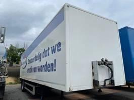 closed box semi trailer System Trailer PRS 10 1 assige city met 2 tons laadklep! 2008