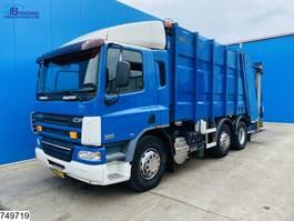 garbage truck DAF CF 75 6x2, EURO 5, Zoeller, Manual 2006