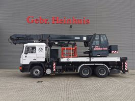 crane truck MAN 6x4 MKG HMK 650 LTK A3 A2 1992