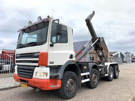 container truck DAF CF 85 .380 8x4 Containersystem Steel Springs APK tot 05-2022 2002