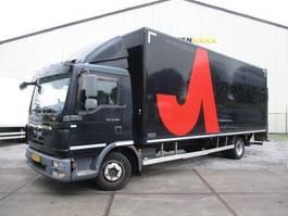 closed box truck MAN TGL 12.220 2011