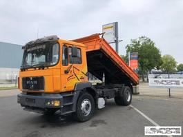tipper truck > 7.5 t MAN 19.403 Full steel - Manual - Mech pump 1998