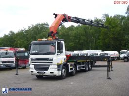 platform truck DAF CF 85 8X2 RHD + Palfinger PK78002-SH E 2013