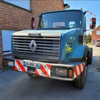 Fahrgestell LKW Renault CBH 320 6X4 FRENCH TRUCK  264.000KM 1996
