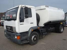 tank truck MAN 14.224 15-224 13000 LITER TANK 2001