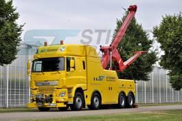 tow-recovery truck DAF CF 460 FAD 8x4 BB Heavy Wrecker 2014