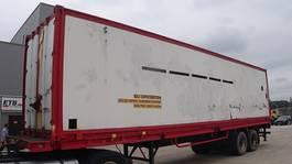 closed box semi trailer LAG 0-2-32-ST (8 TYRES / FREINS TAMBOUR / DRUM BRAKES) 1977