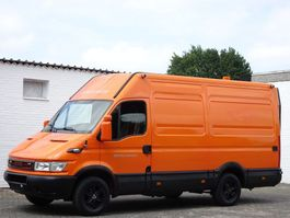 closed lcv Iveco Daily 35S10 Lang + Hoch LBW Servicewagen Lkw 3,5t 2005