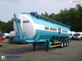 tank semi trailer semi trailer SPITZER Powder tank alu 63 m3 (tipping) 1995