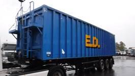 tipper semi trailer Stas 60 m³ kipper 2004