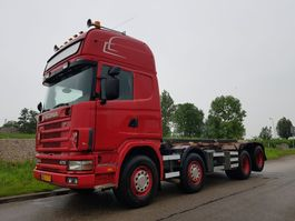 container truck Scania 124 470 8x2 NCH Manual Retarder 2003