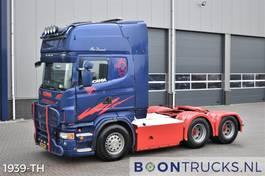 heavy duty tractorhead Scania R560-V8 6x4   EURO5 * RETARDER * MANUAL * HYDRAULICS * FULL AIR * APK 02-2022 2009