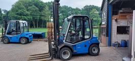 forklift BT 4,5T diesel 2013 vorkenspreider sideshift
