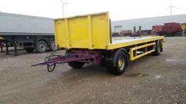 flatbed full trailer KWB Open laadbak-6m80 - 3.020 Kg 2009