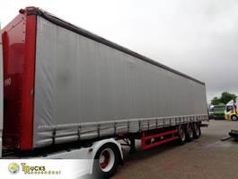 sliding curtain semi trailer Renders 93/3052 + 3 AXLE 2001