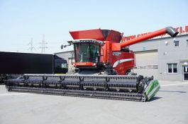 combine - harvester Massey Ferguson LAVERDA ML800 ARS , 1400 MTH , NEW HEADER 10,7m , rotor , tank 2011