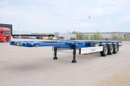 container chassis semi trailer Krone NEW 3-axle container chassis 1x40/1x30/1x20/2x20 2019