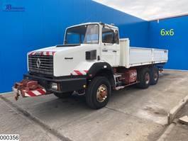 platform truck Renault CBH 280 6x6, Manual, Steel suspension, Hydraulic, Winch 1988