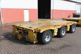 lowloader semi trailer Nicolas Heavy duty modules 2006