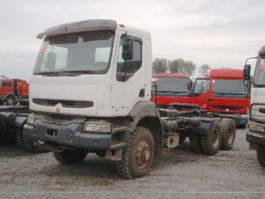 chassis cab truck Renault 350.34 6x6 Kerax 350.34 6x6 2001