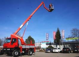 mounted boom lift truck Iveco 100E18 4x4 PALFINGER BISON TKA 19 LIFT Aufzug . 2005
