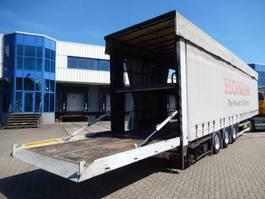 sliding curtain semi trailer Trailor 3 As Oplegger Schuifzeil- T.b.v. Auto/ Motorentransport - V.v. Dubbele L... 2003