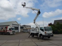 bucket truck lcv Nissan cabstar cmc 20meter euro5 2012