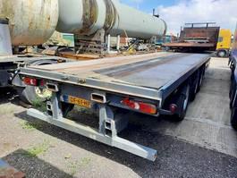 flatbed semi trailer Netam-Fruehauf ONCRK 39 327 A 1997