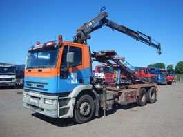 container truck Iveco Eurotech 350 Hiab 125 2000