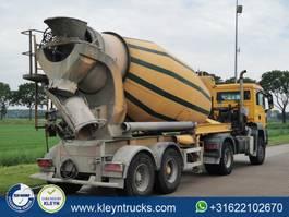 concrete mixer semi trailer MOL MIXER stetter 10,5 m3 2008