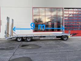 lowloader trailer Möslein T 3-9,20 F Blatt 3 Achs Tieflader mit gerader Ladefläche 9 m, Neufahrzeug 2021