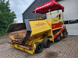 wheeled asphalt paver Dynapac 8008