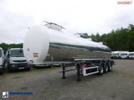 tank semi trailer semi trailer BSL T Chemical tank inox 30 m3 / 1 comp 1996