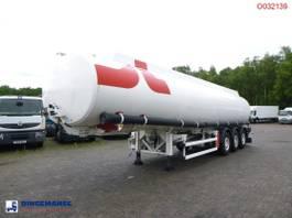 Tankauflieger Parcisa Fuel tank alu 42.8 m3 / 6 comp 2003